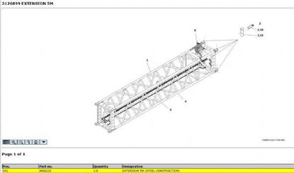 Picture of Grove Boom Extension - 5M (03066223)