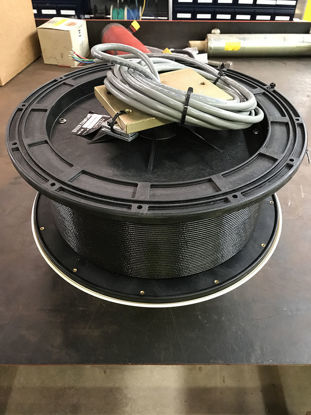 """Picture of Greer TWG Reeling Drum Assembly 12"""" X 5.0"""", 90'ext 20'tail No Connectors"""