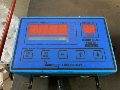 Picture of CraneSmart Systems / The Load & A-2-B Co. 40,000 LB Radio Load System Display